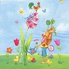 Stil Ubrousky 33 x 33 Velikonoce - Velikonoční zvířátka