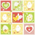 Stil Ubrousky 33 x 33 Velikonoce - Velikonoční patchwork