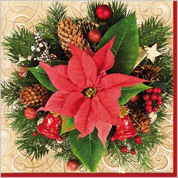 Stil Ubrousky 33 x 33 - Vánoční Hvězda 2