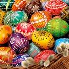Stil Ubrousky 33 x 33 Velikonoce - Kraslice