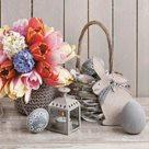 Stil Ubrousky 33 x 33 Velikonoce - Tulipány