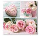 Stil Ubrousky 33 x 33 dekorativní - Růže