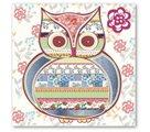 Stil Ubrousky 33 x 33 dekorativní - Sova