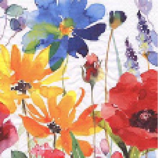 Stil Ubrousky 33 x 33 dekorativní - Luční kvítí