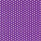 Stil Ubrousky 33 x 33 dekorativní - Puntíky - fialová