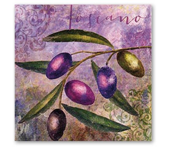 Stil Ubrousky 33 x 33 dekorativní - Olivy