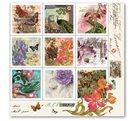 Stil Ubrousky 33 x 33 dekorativní - Květinové dopisy