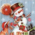 Stil Ubrousky 33 x 33 Vánoce - Sněhulák