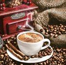 Stil Ubrousky 33 x 33 dekorativní - aromatická káva