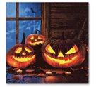 Stil Ubrousky 33 x 33 dekorativní - halloweenské dýně