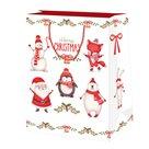 Vánoční dárková taška 19,5 x 28 x 10 cm - Vánoční party