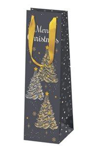 Vánoční dárková taška 10,5 × 36 × 10 cm - Vánoční noc