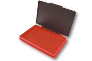 Kores Razítková poduška 7 × 11 cm - červená
