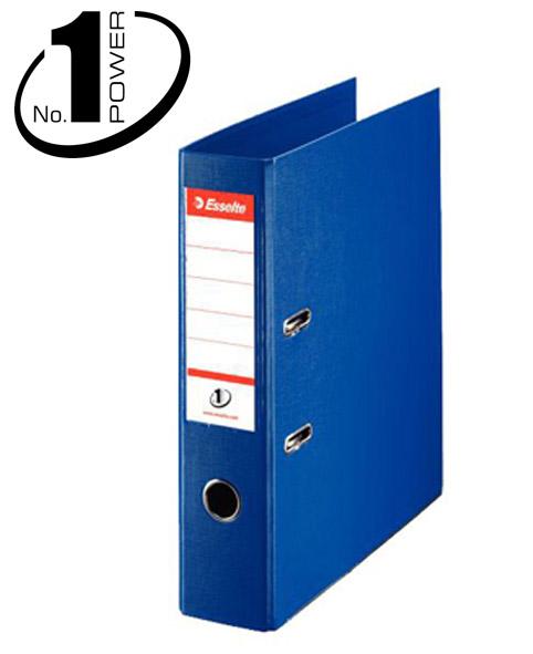 Esselte Pořadač pákový No. 1 POWER A4 7,5cm - modrý - 72 x 318 x 290 mm