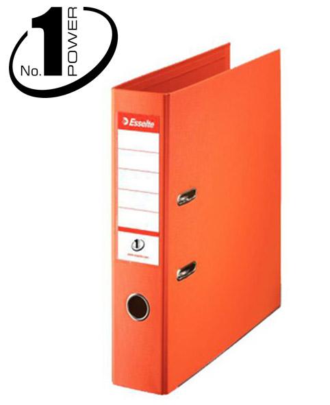Pákový pořadač Esselte No.1 POWER A4 7,5 cm - oranžová - 72 x 318 x 290