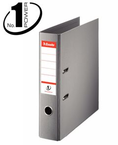 Esselte Pořadač pákový No. 1 POWER A4 7,5cm - šedý