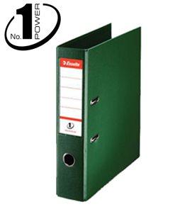 Esselte Pořadač pákový No. 1 POWER A4 7,5cm - zelený