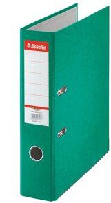 Esselte Pořadač pákový Rainbow 7,5cm kartonový - zelený