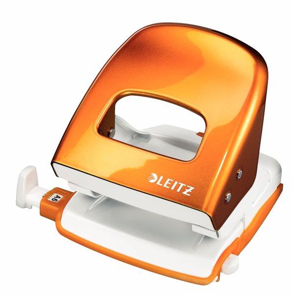 Leitz Děrovačka 5008 Nexxtseries - metalická oranžová