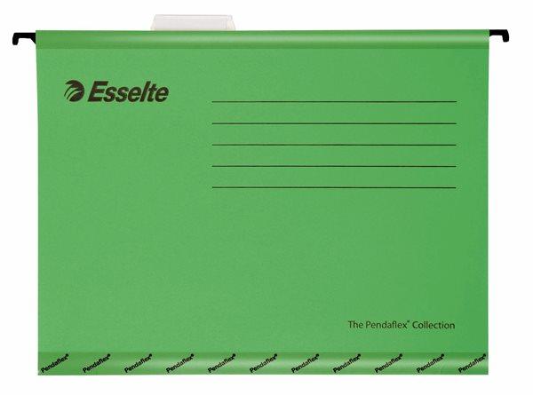 Esselte Závěsné desky Pendaflex - zelené