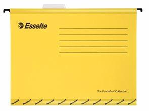Esselte Závěsné desky Pendaflex - žluté