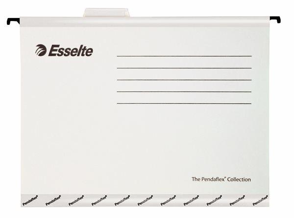 Esselte Závěsné desky Pendaflex - bílé