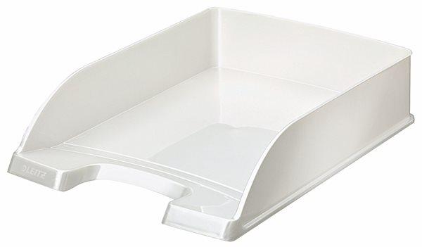 Leitz WOW Kancelářský odkladač - perleťová bílá