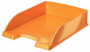 Leitz WOW Kancelářský odkladač - metalická oranžová