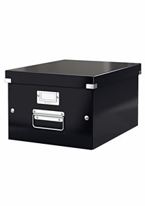 Leitz WOW Krabice A4 - černá