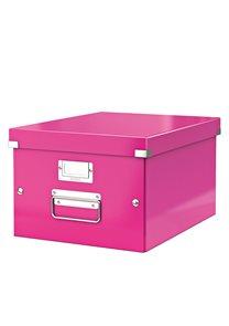 Leitz WOW Krabice A4 - růžová