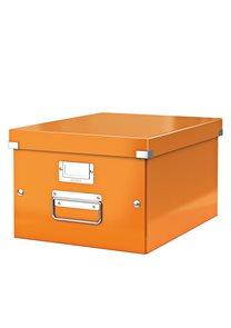 Leitz WOW Krabice A4 - oranžová