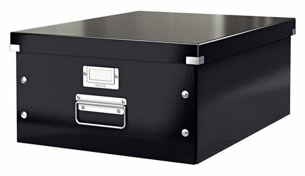 Leitz WOW Krabice A3 - černá