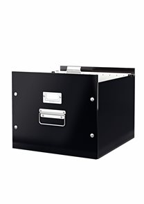 Leitz WOW Krabice na závěsné desky - černá