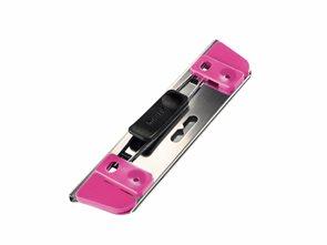 Leitz Mobilní děrovačka WOW Active 2 v 1 - růžová