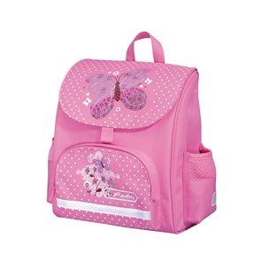 Předškolní taška Motýl - růžová