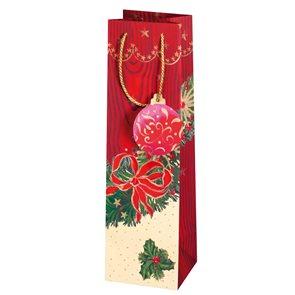 Vánoční dárková taška 10,5 x 36 x 10 cm - Ozdoba