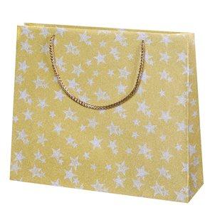 Vánoční dárková taška 36 x 31 x 10 cm - Romantic angeles