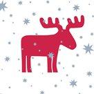 Vánoční ubrousky 33 x 33 cm, 20 ks - Elmar/Sob