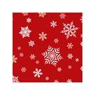 Vánoční ubrousky 25 x 25 cm, 20 ks - Hvězdy