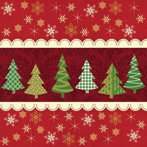 Ubrousky 33 × 33  - Vánoce