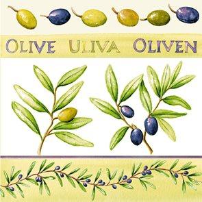 Ubrousky 33 × 33 - Olivy