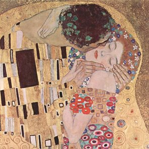 Ubrousky 33 × 33 - Klimt