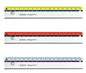 Herlitz my.pen pravítko 17cm - mix barev