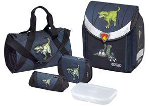 Školní aktovka Flexi - Dinomania - vybavená