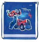 Sáček na cvičky Midi - Transformers- modrý