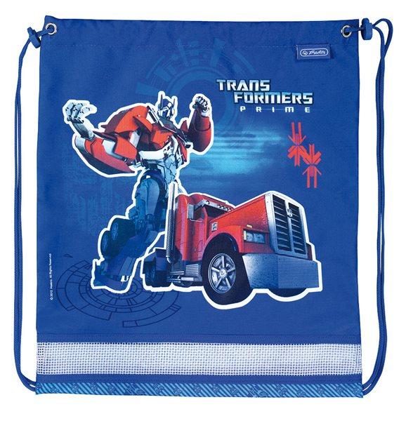 Sáček na cvičky Midi - Transformers- modrý, Sleva 25%