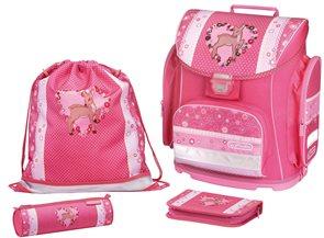 Školní batoh Midi - Kolouch srdce - vybavená