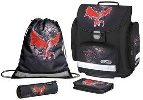 Školní batoh Midi - Dragon - vybavená