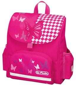 Předškolní taška SB - Motýl růžová