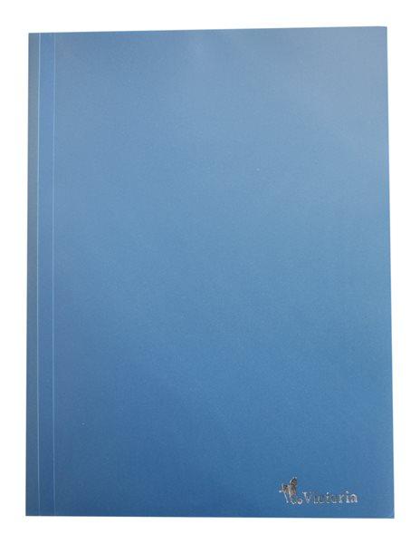 Victoria Desky s gumou PP 3 klopy A4 - modré